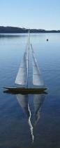 boat in calm