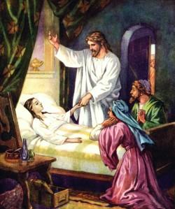 Jesus gentle healer