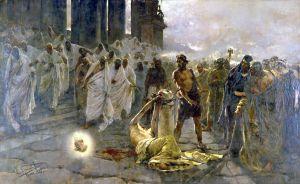 Death of St Paul - Simonet -1887