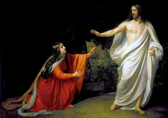 Mary Magdalene alexander-ivanov-christs-appearance