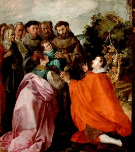 nb pinacoteca_herrera_elder_the_healing_of_the_child_st_bonaventure_by_st_francis