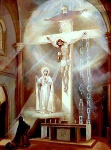 Fatima - Lucia Vision 1929 in Tuy Spain