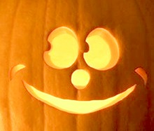 smiley pumpkin