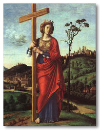 St Helena and the true cross